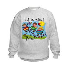 Little Daredevil 2nd Birthday Sweatshirt