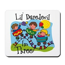Little Daredevil 3rd Birthday Mousepad