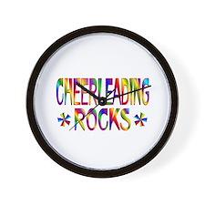 Cheerleading Wall Clock