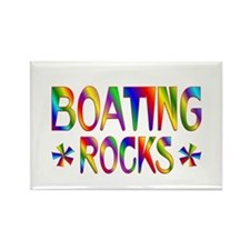 Boating Rectangle Magnet (10 pack)