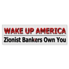 Wake Up America - Bumper Sticker