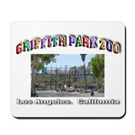 Griffith Park Zoo Mousepad