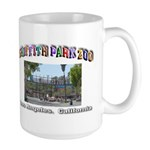 Griffith Park Zoo Large Mug