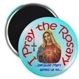 "Pray the Rosary - 2.25"" Magnet (10 pack) (c)"