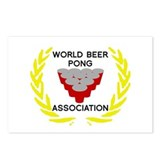 World Beer Pong Association Postcards (Package of