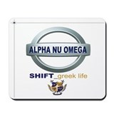 "ANQ ""Shift_Greek Life"" Mousepad"