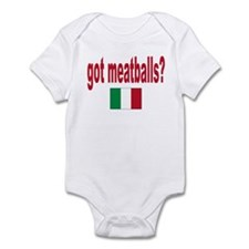 got meatballs Infant Bodysuit