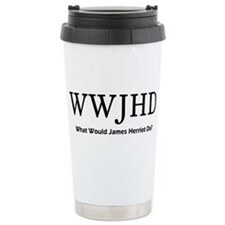 What Would James Herriot Do? Ceramic Travel Mug