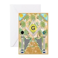 Freemasonry Greeting Card