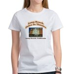 Long Beach Drive In Theatre Women's T-Shirt