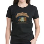Long Beach Drive In Theatre Women's Dark T-Shirt