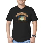 Long Beach Drive In Theatre Men's Fitted T-Shirt (