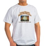 Long Beach Drive In Theatre Light T-Shirt