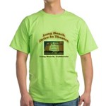 Long Beach Drive In Theatre Green T-Shirt