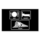 Eat, Sleep, Train Decal