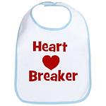 Heart Breaker with heart Bib