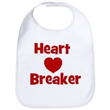 Heart Breaker with heart Bib