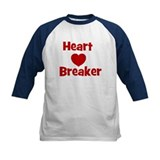 Heart Breaker with heart Tee
