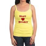 Heart Breaker with heart Jr. Spaghetti Tank