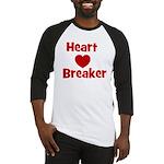 Heart Breaker with heart Baseball Jersey