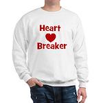 Heart Breaker with heart Sweatshirt