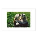 Cocker Spaniel Puppies Photo Postcards (Package of