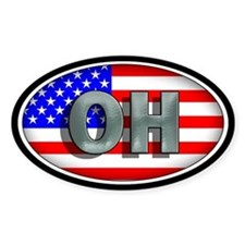 OHIO Oval Decal