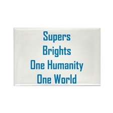 Supers/Brights Rectangle Magnet (10 pack)
