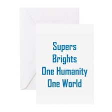 Supers/Brights Greeting Cards (Pk of 10)