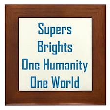Supers/Brights Framed Tile