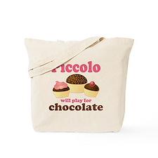Funny Chocolate Piccolo Tote Bag