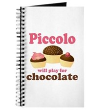 Funny Chocolate Piccolo Journal