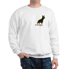 2-Sided GSD Tripawds Rule Sweatshirt