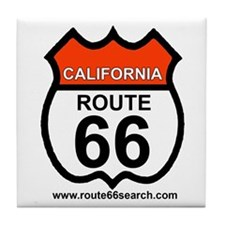 California Route 66 Tile Coaster