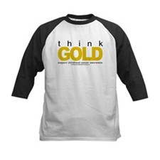 Childhood Cancer Think Gold Tee