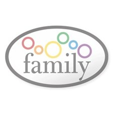Family Pride Euro Decal