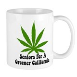 Seniors For Marijuana Legalization California Small Mugs