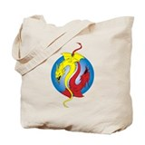 2 Dragons Tote Bag