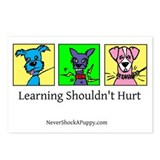Learning Shouldn't Hurt Postcards (Package of 8)