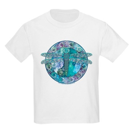 Cool Celtic Dragonfly Kids T-Shirt