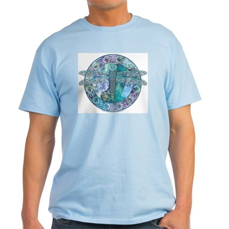 Cool Celtic Dragonfly Light T-Shirt