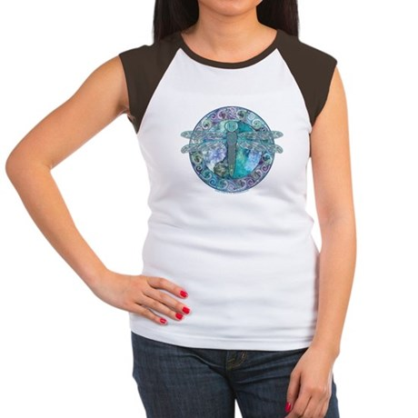 Cool Celtic Dragonfly Women's Cap Sleeve T-Shirt