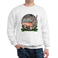 bow hunter, trophy buck Sweatshirt