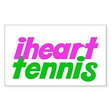 iheart tennis Decal