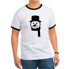 Black Organic Kid's Security T Shirt