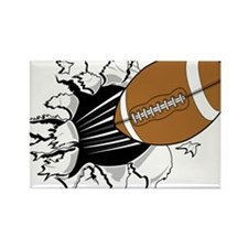 FOOTBALL *14* Rectangle Magnet (100 pack)