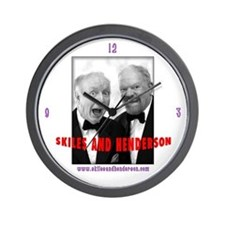 Skiles and Henderson Wall Clock