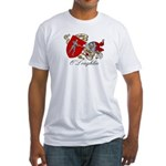 O'Loughlin Family Shield Fitted T-Shirt