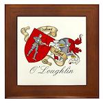 O'Loughlin Family Shield Framed Tile