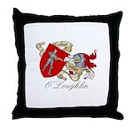 O'Loughlin Family Shield Throw Pillow